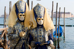 Venetian costumes Royalty Free Stock Photography
