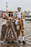 Venetian Couple Stock Images