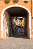 Venetian courtyard royalty free stock photos