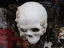 Venetian death mask Royalty Free Stock Photos