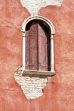 Venetian decayed facade Royalty Free Stock Photo