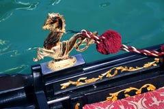 venetian detaljgondol Arkivfoto