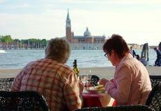 Venetian Dinner Royalty Free Stock Photos