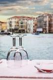 Venetian dinner Stock Photography