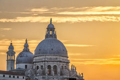 Venetian Dome at Sunset Stock Photos