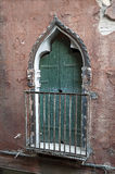 Venetian door. Stock Photo