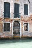 Venetian doors in a house Royalty Free Stock Photography