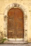 Venetian doors in Rethymno Stock Image