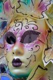venetian färgrik maskering Fotografering för Bildbyråer