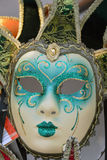 venetian färgrik maskering Royaltyfri Fotografi