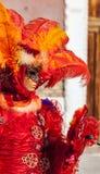 Venetian förklädnad Royaltyfria Bilder