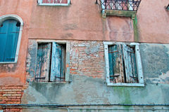 Venetian facade Stock Images