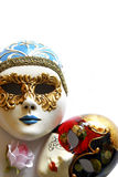 Venetian Face Mask. A symbol of Venice, the Venetian Masks come out at carnival time Stock Image