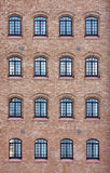 Venetian Factory Windows Royalty Free Stock Photo