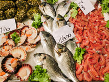 Venetian fish market Stock Photo