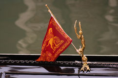Venetian Flag Royalty Free Stock Photos