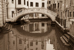 Venetian Footbridge Royalty Free Stock Image