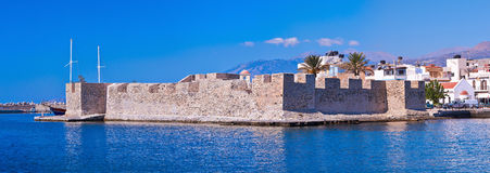 Venetian fort in Ierapetra Stock Photography