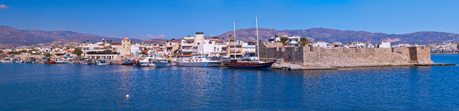 Venetian fort in Ierapetra Royalty Free Stock Photography