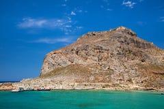 Venetian fort at Imeri Gramvousa island Crete Greece Stock Photos