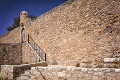 Venetian fort in Sitia Crete Royalty Free Stock Images