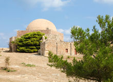 Venetian Fortezza or Citadel in Rethymno, Crete, Greece Stock Photo