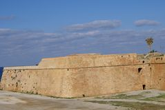 Venetian fortification Walls of Chania in Crete, Greece Stock Image