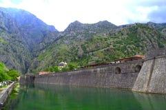 Venetian fortifications of Kotor, Montenegro Royalty Free Stock Photo