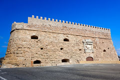 Venetian Fortress, Castle, Heraklion, Crete, Greece Royalty Free Stock Photo