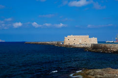 Venetian Fortress, Castle, Heraklion, Crete, Greece Stock Images