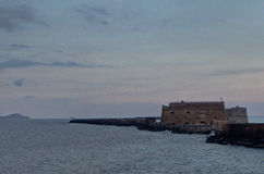 Venetian Fortress, Castle, Heraklion, Crete, Greece Stock Image