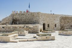 Venetian fortress , Heraklion. Royalty Free Stock Photos