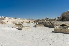 Venetian fortress , Heraklion. Royalty Free Stock Photography