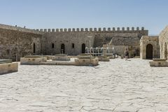 Venetian fortress , Heraklion. Stock Photo