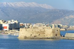 Venetian Fortress in Iraklio Stock Photography