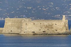 Venetian Fortress in Iraklio Royalty Free Stock Images