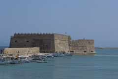 Venetian Fortress Koules Stock Images