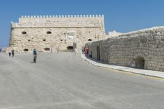 Venetian fortress , Iraklion. Royalty Free Stock Photography