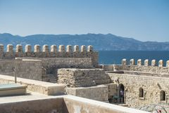 Venetian fortress , Iraklion. Stock Photos