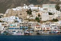 Venetian fortress in Naxos, Cyclades Islands Royalty Free Stock Photos