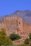 Venetian fortress walls with blanks Stock Photography
