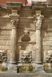 Venetian fountain on Crete royalty free stock image