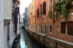 Venetian gata Arkivbilder