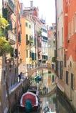 Venetian gata Arkivfoton