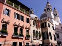 Venetian gatalandskap Arkivfoto