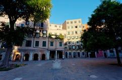 Venetian Ghetto jewish ghetto, Venice, Italy royalty free stock photo