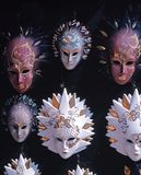 Venetian Glass Masks, Italy. Stock Images