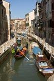 venetian gondol Royaltyfri Fotografi