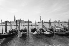 venetian gondol Royaltyfria Foton