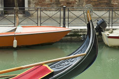 Venetian gondola Stock Images